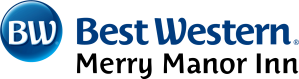 Best Western Merry MAnor Inn horizontal logo