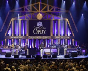Opry Set with audience